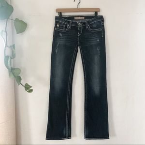 Big Star Sweet Boot Ultra low rise jeans